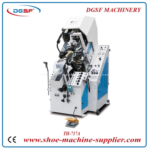 9 Pincers Hydraulic Automatic Toe Lasting Machine 737A