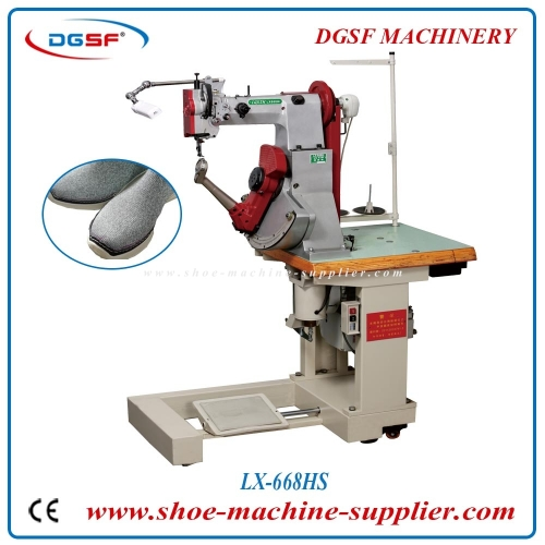 Leather Sole Stitching Machine For Casual Shoes LX-668HS