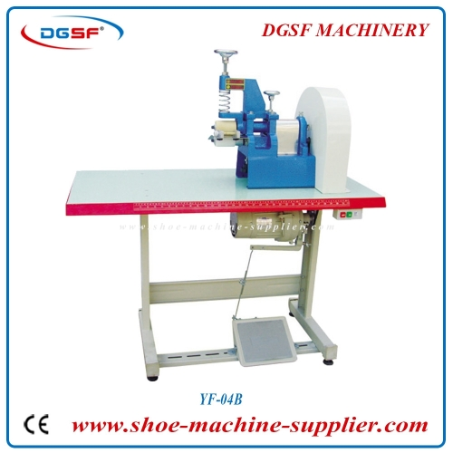 Leather Belt One Section Wheel Agglutinating Machine YF-04B