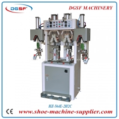Double cold and double hot valgus type counter moulding machine HZ-564E-2H2C