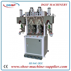 Double cold and double hot Rubber type counter moulding machine HZ-564C-2H2C