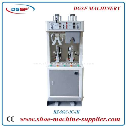 One cold and one hot Rubber type counter moulding machine HZ-562C-1H1C