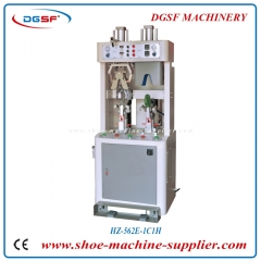 One cold and one hot valgus type counter moulding machine HZ-562E-1H1C