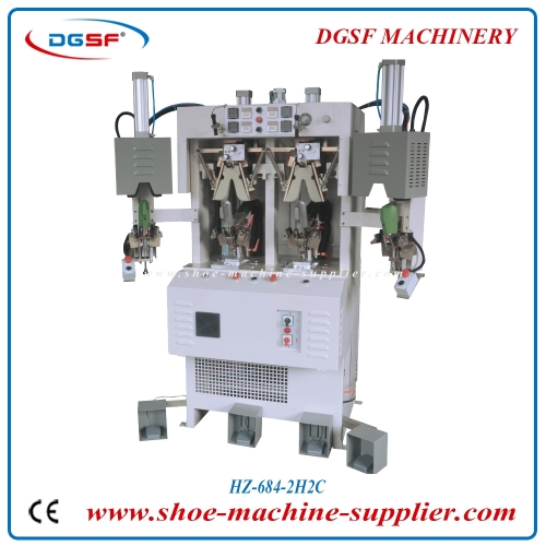 Double cold and double hot counter moulding machine HZ-684-2H2C