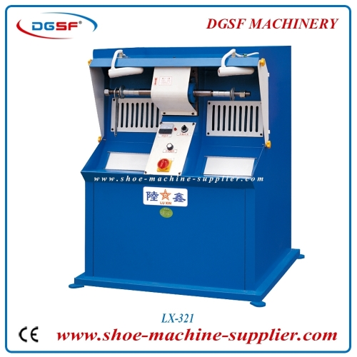 Double side adjustable speed polishing machine LX-321