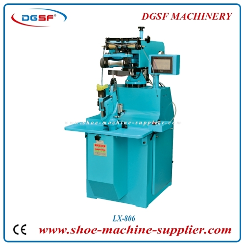 Goodyear shoes leather sole reshaping machine