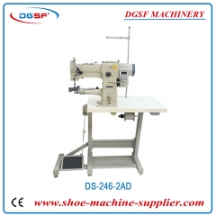 Compound feed heavy duty cylinder bed hand sewing machine for carpet DS-341