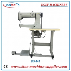 Compound feed super heavy duty swing shuttle thick thread cylinder bed sewing machine DS-441
