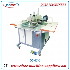 Automatic industrial pattern sewing machine for leather bag shoes DS-4030
