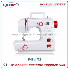Home sewing machine with LCD screen and microcomputer with 30 kinds of stitches and thick seaming FHSM-702